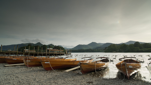 Keswick Boats Lake District England
