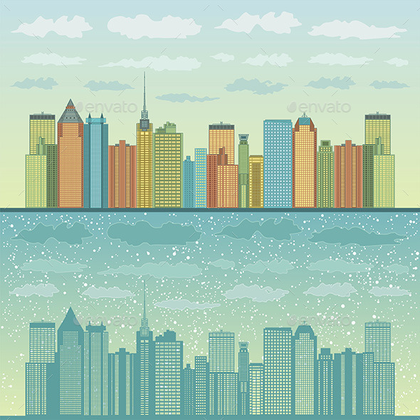 GraphicRiver Panorama of Cities 9849959
