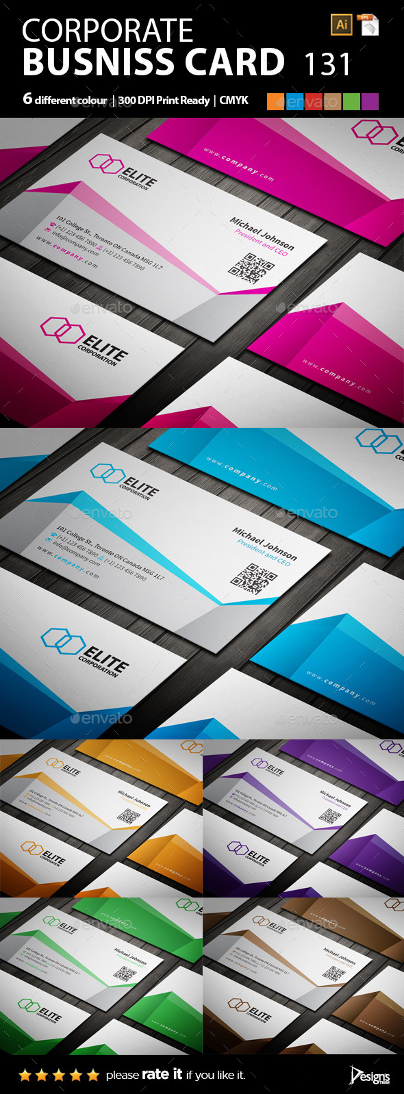 GraphicRiver Business Card 9850064