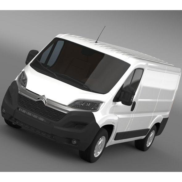 3DOcean Citroen Jumper Van L1H1 2014 9850278