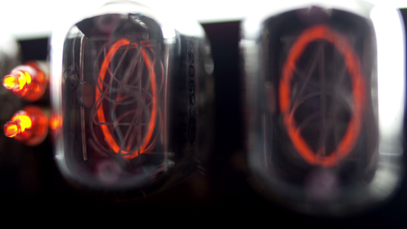 Nixie Tube Clock Numerical Counter 2
