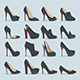 Shoes Set - GraphicRiver Item for Sale
