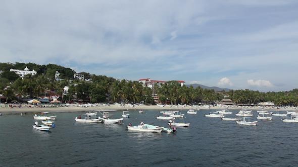 Puerto Escondido Bay Mexico