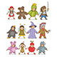 Christmas Costumes Kids - GraphicRiver Item for Sale
