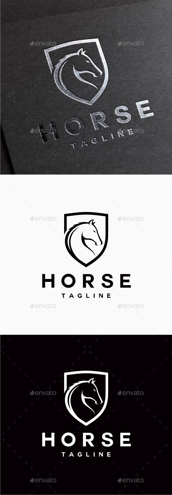 GraphicRiver Horse Logo 9850865