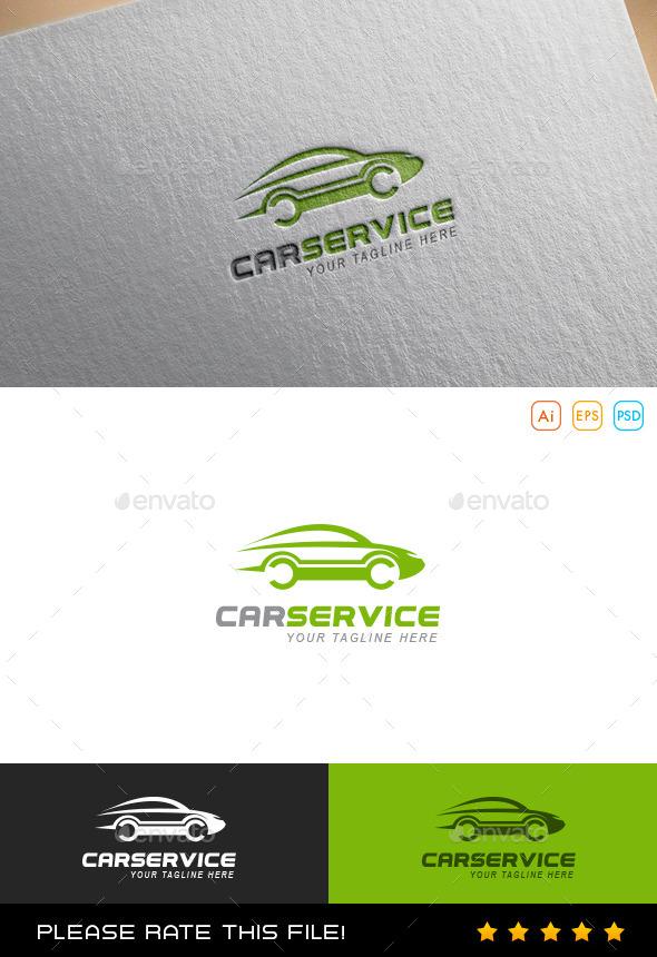 GraphicRiver Car Service Logo 9850868