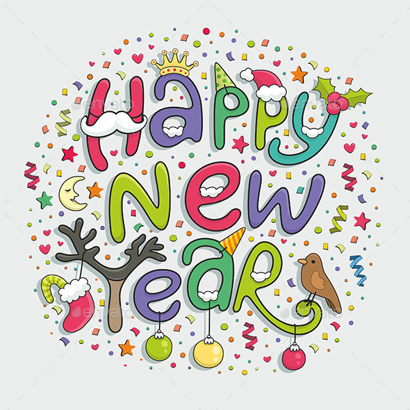 GraphicRiver Happy New Year 9850882