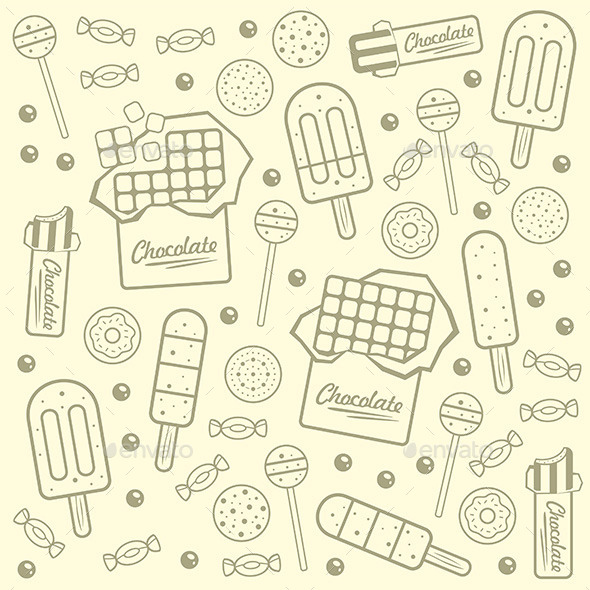 GraphicRiver Sweet Seamless Background 9850914