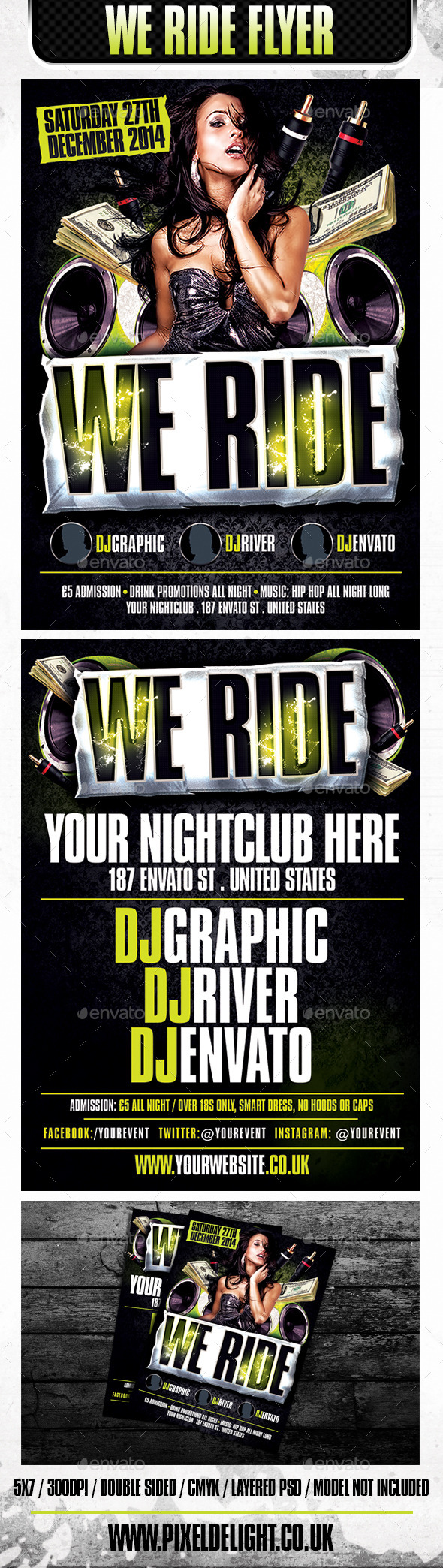We Ride Club Flyer