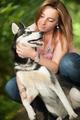 Love her dog - PhotoDune Item for Sale