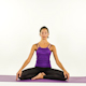 Yoga Teacher Poses On A White Background 2 - VideoHive Item for Sale
