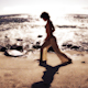 Yoga Teacher Practive Stunning Beach Sunrise - VideoHive Item for Sale