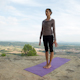 Yoga Teacher, Amazing Location, Mountain Clifftop 2 - VideoHive Item for Sale