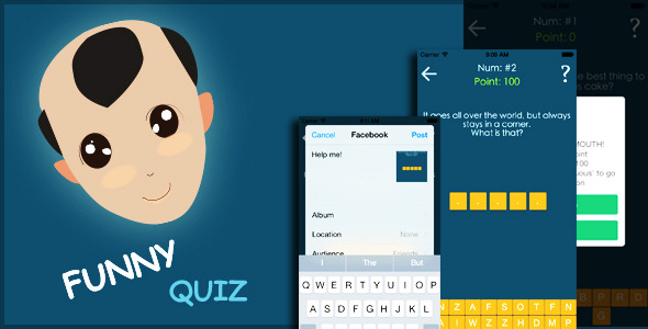CodeCanyon Funny Quiz Game 9852501
