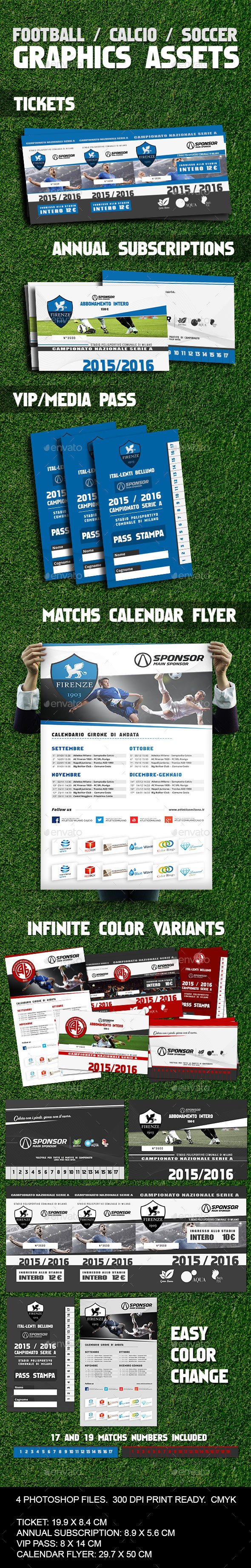 GraphicRiver Soccer Calcio Football Image Assets 9819528