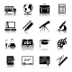 Education Icons Set - GraphicRiver Item for Sale