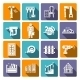 Carpentry Icons Set - GraphicRiver Item for Sale