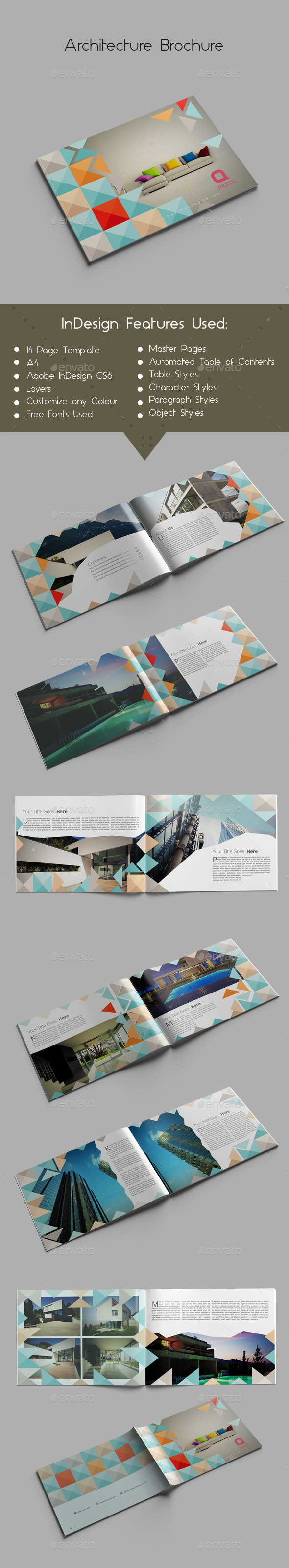 GraphicRiver Architecture Brochure 9852647