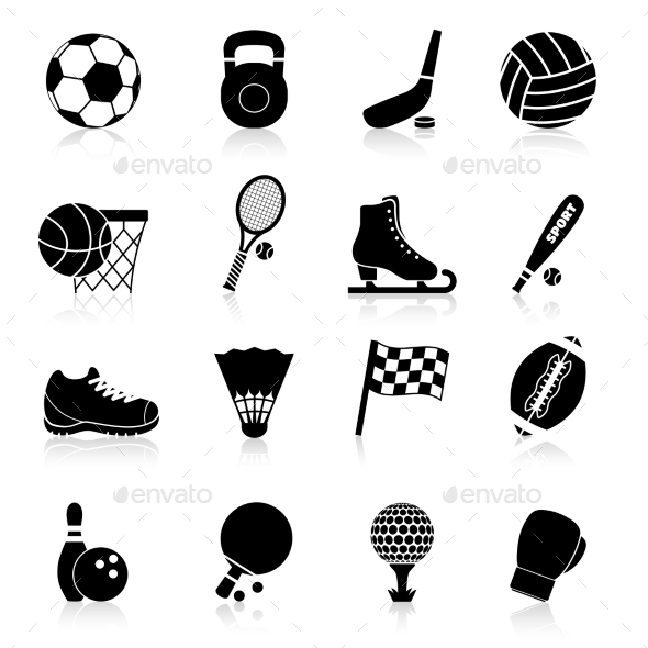 GraphicRiver Sport Icons 9852682