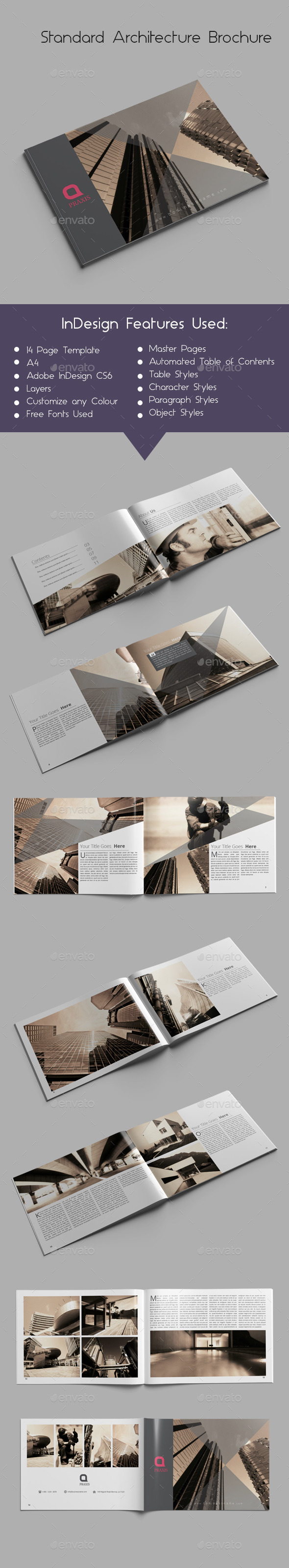 GraphicRiver Standard Architecture Brochure 9852707