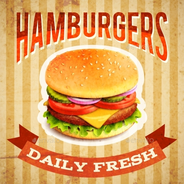 GraphicRiver Fast Food Poster 9852744