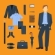 Business Man Clothes Set - GraphicRiver Item for Sale