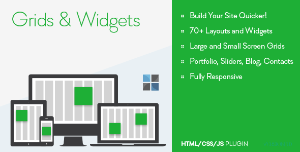 CodeCanyon Grids and Widgets HTML CSS JS 9819833