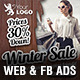 Winter Sale Web & Facebook Banners - GraphicRiver Item for Sale