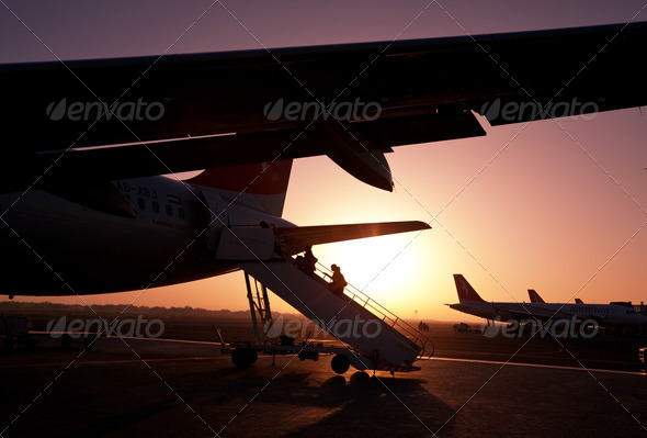 Aircraft - Stock Photo - Images