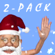 Santa Dancer & Snow Fall - Pack of 2 - VideoHive Item for Sale