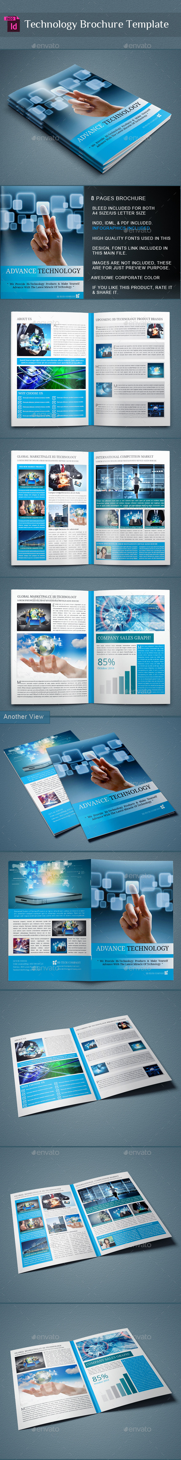 GraphicRiver Technology Brochure Catalog 9829266