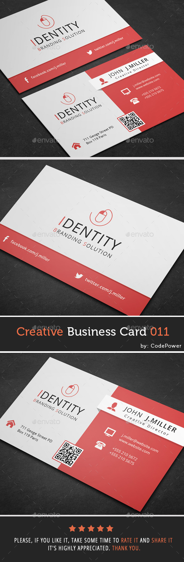GraphicRiver Creative Business Card 011 9854224