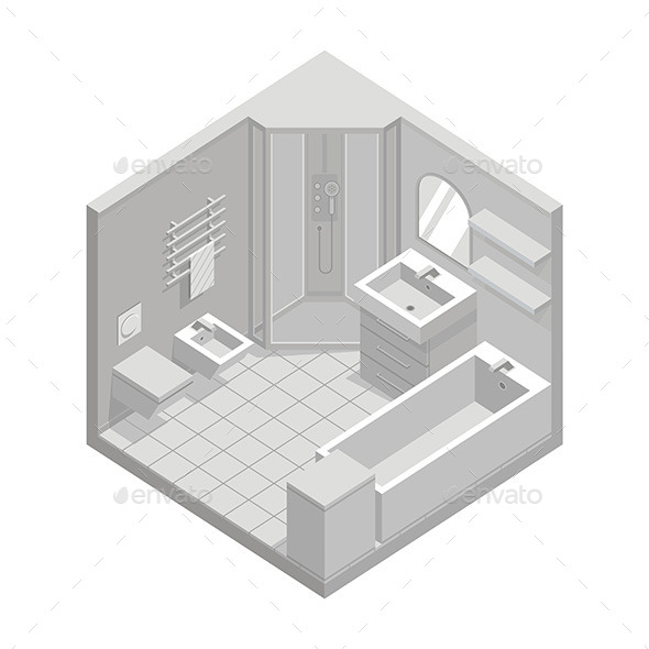 GraphicRiver Bathroom 9854491