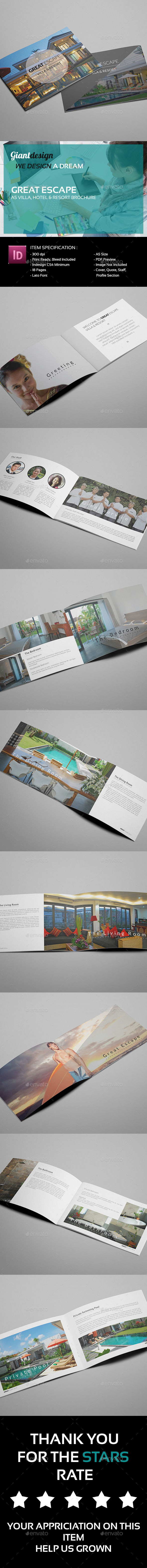 Great Escape A5 Villa Resort Brochure