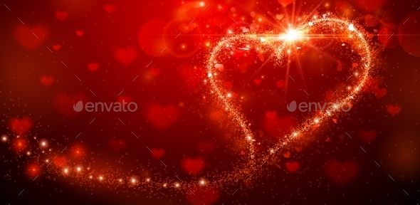 GraphicRiver Valentines Day Background 9854513