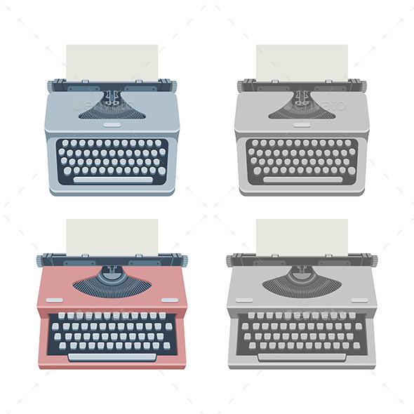 GraphicRiver Typewriter 9854566