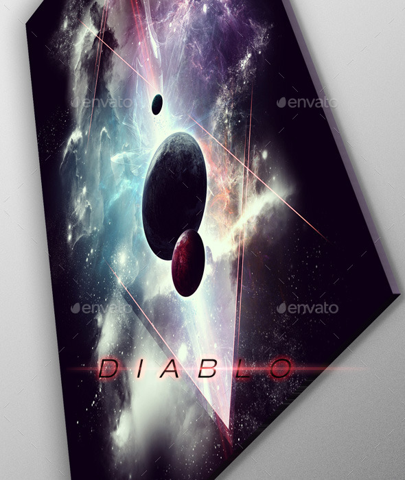 GraphicRiver Diablo Space Art Poster 9854575