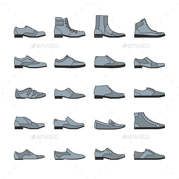 GraphicRiver Footwear Icon 9854613