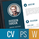 Clean Cv / Resume - GraphicRiver Item for Sale