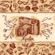 Hipster Camera Background - GraphicRiver Item for Sale