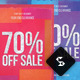 Sale Off Flyer Template - Paper Art - A4 - GraphicRiver Item for Sale