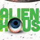 Aliens House Electro Party Flyer/Poster - GraphicRiver Item for Sale