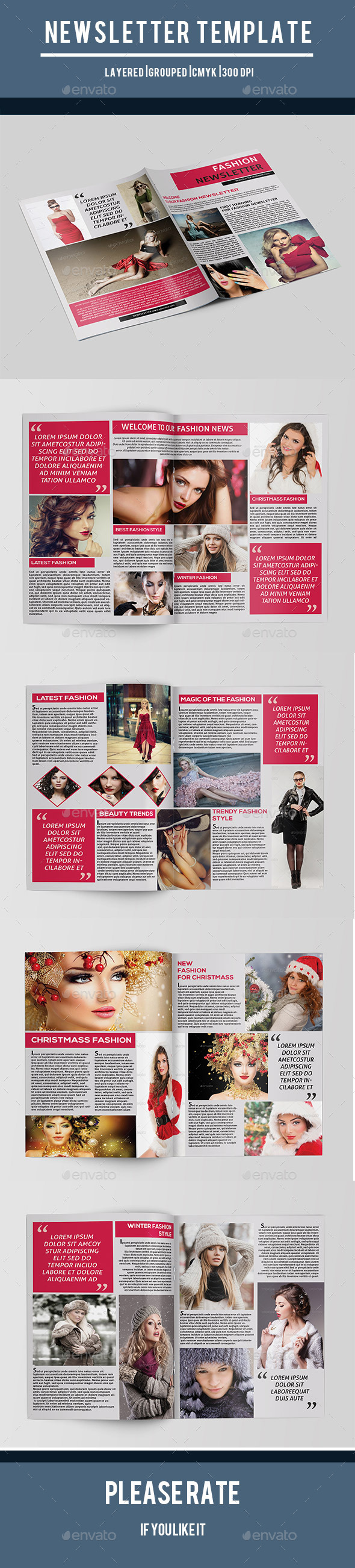 GraphicRiver Fashion Newsletter-V01 9854754
