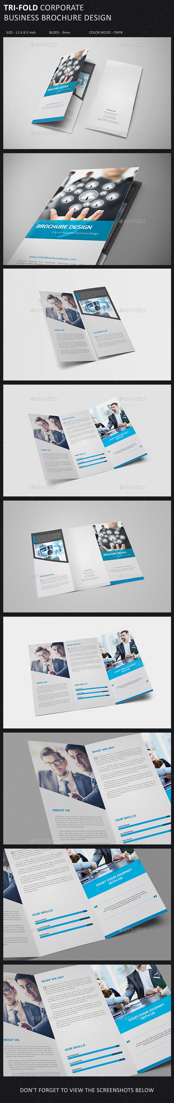 GraphicRiver Tri-Fold Brochure Template 9854759
