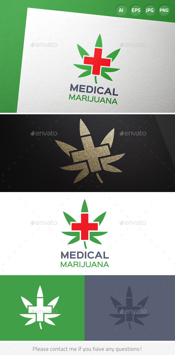 Medical Marijuana Cannabis Logo