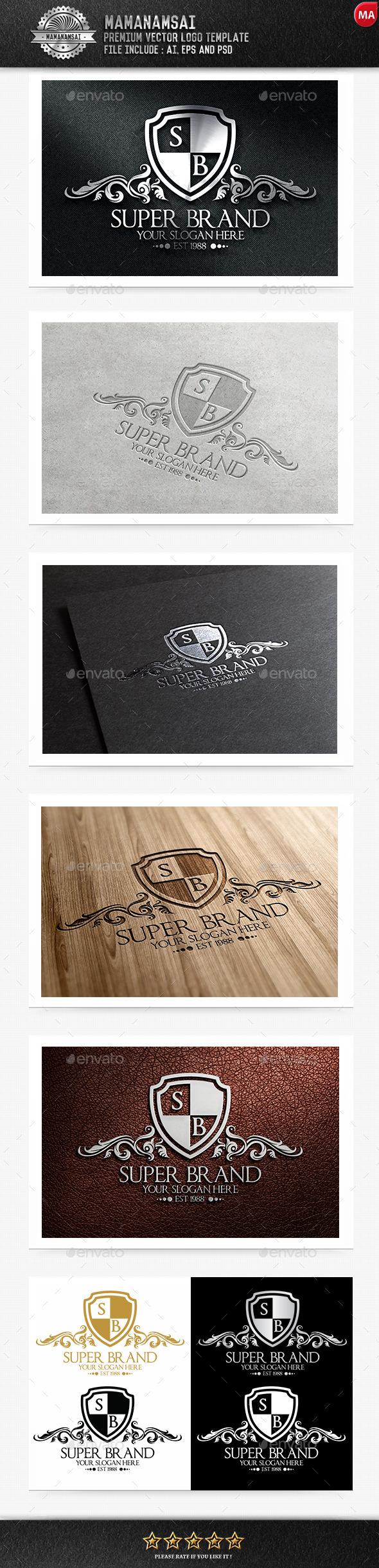 GraphicRiver Super Brand Logo 9854878