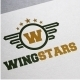 Wingstars Logo - GraphicRiver Item for Sale