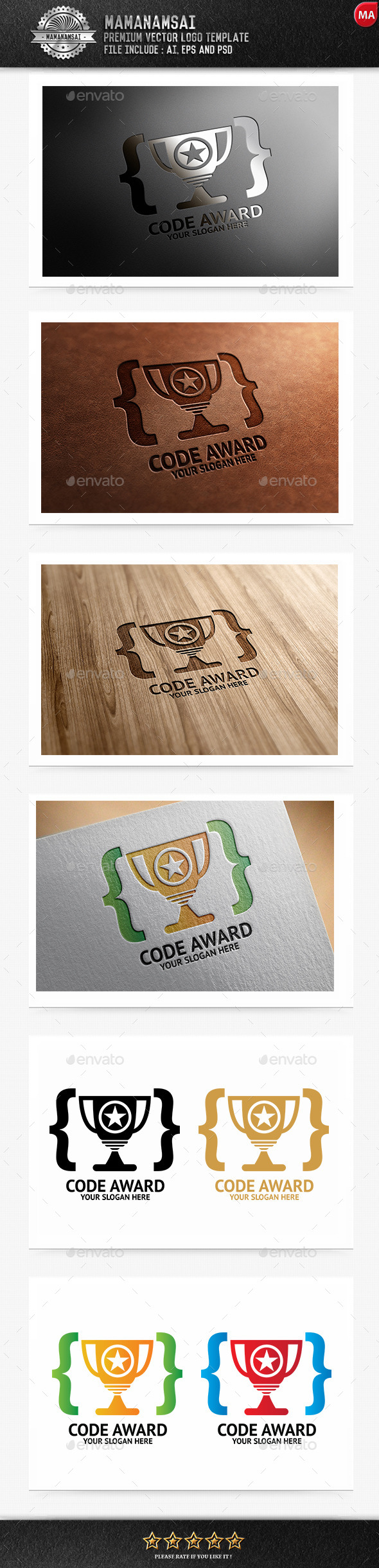 GraphicRiver Code Award Logo 9855742