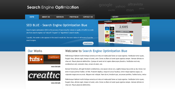 ThemeForest SEOBLUE 40547