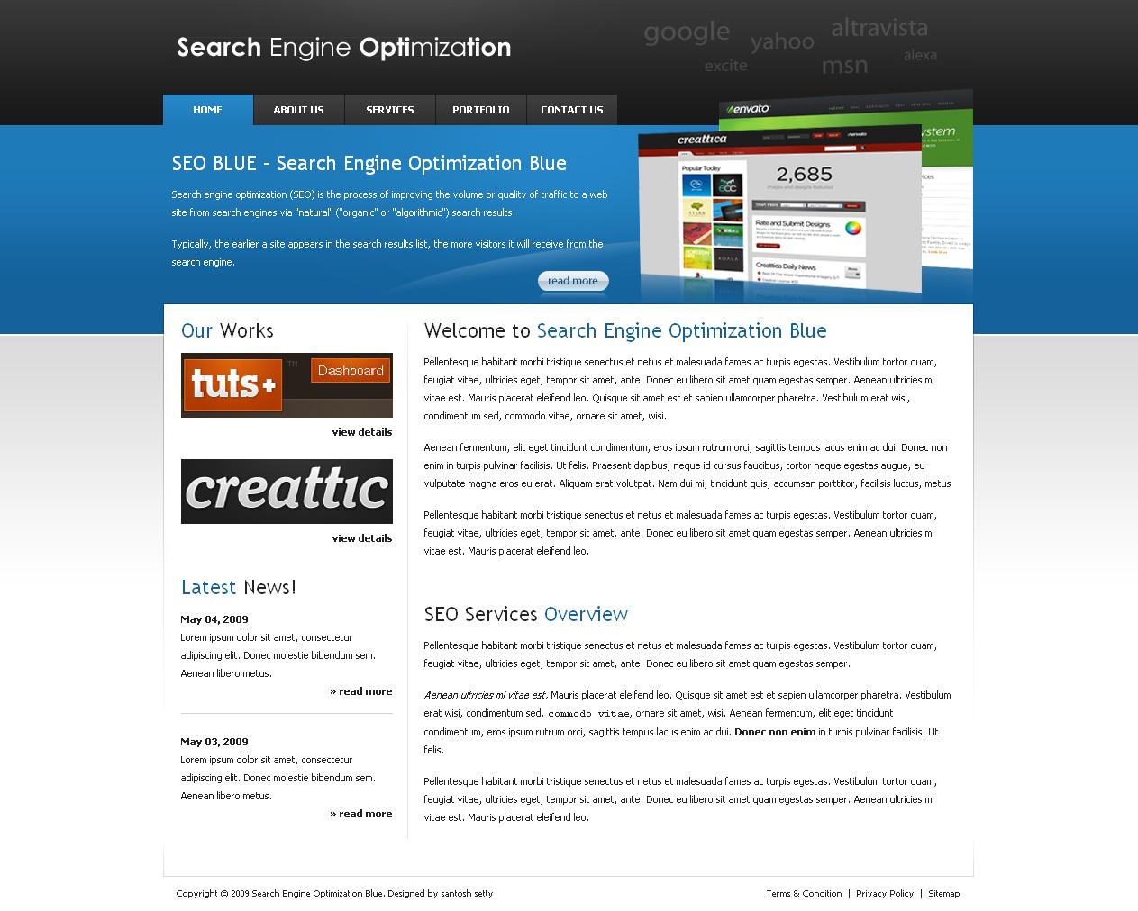 SEOBLUE - Home Page of SEOBLUE